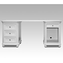 Aspen Desk with Two Cabinets