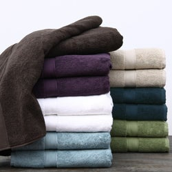 Supreme 800-gram Egyptian Two-Ply Cotton/Terry Towels 6-piece Set