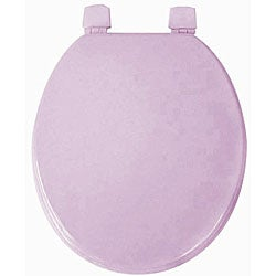 Violet Molded Wood Solid Toilet Seat