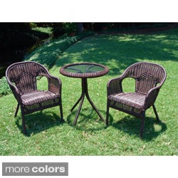 Outdoor Resin/ Steel Bistro Set