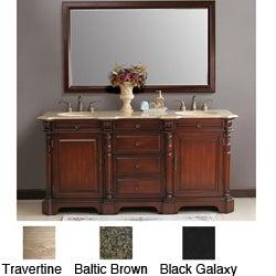 Brenna 72-inch Double Sink Bathroom Vanity