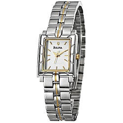 Bulova Women's Two-tone Steel Quartz Dress Watch