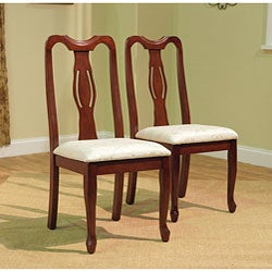 Simple Living Queen Ann Dining Chairs (Set of 2)
