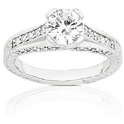 14k Gold 1 1/3ct TDW Round Diamond Ring (G-H, SI)