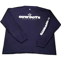 Dallas Cowboy Navy Blue Long-sleeve T-shirt