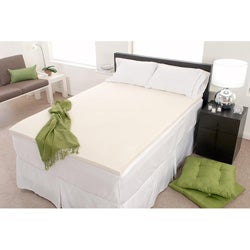 Eco-friendly 4-inch Memory Foam Mattress Topper