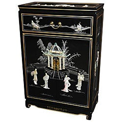 Mother of Pearl Shoe Cabinet (China)