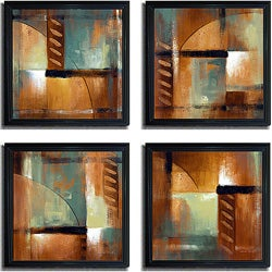 Lanie Loreth 'Summer Soiree' Framed 4-piece Art Set