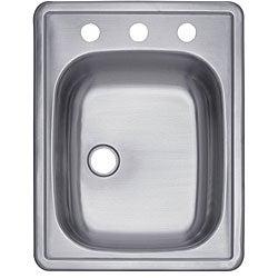 Stainless-Steel Rectangular Bar Sink