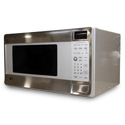 LG TrueCookPlus 1.2-cubic-foot Steel Microwave (Refurbished)