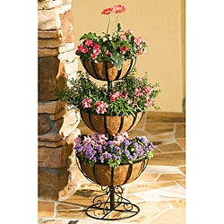 Metal 3-tier Jardiniere