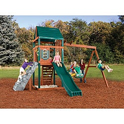 Brentwood Wood Complete Swing Set Kit