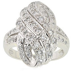 Michael Valitutti 14k White Gold 5/8ct TDW Diamond Ring (I, SI)
