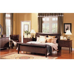 Abbyson Living Novara 5-piece Cal-King Sleigh Bedroom Set