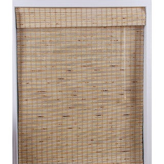 Mandalin Bamboo Roman Shade (67 in. x 74 in.)