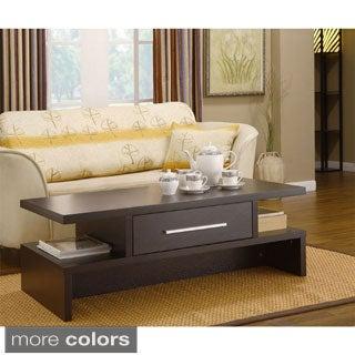 Furniture of America Tepekiie Two-side Open Coffee Table