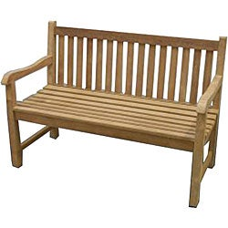 Solid Teak 5-foot London Bench