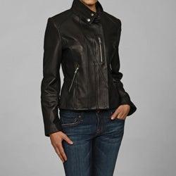 Collezione Women's Lambskin Cycle Jacket