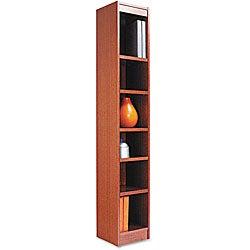 Alera Narrow Profile Finished Back Bookcase