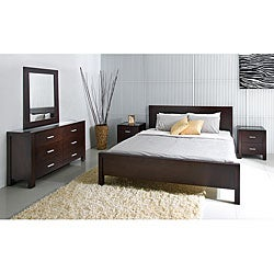 Abbyson Living Hamptons 5-piece Cal King-size Platform Bedroom Set