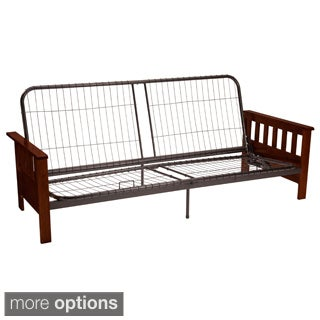 Provo Full or Queen-size Mission-style Futon Sofa Sleeper Frame
