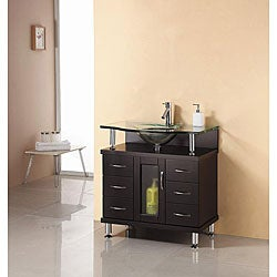 Single Sink 32 inch Bathroom Vanity