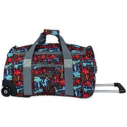 J World 'Tamarak' 22-inch Carry On Rolling Upright Duffel Bag