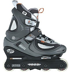 Corr ATS Gray/Silver/Black Plastic/Polyester Aggressive Inline Skates