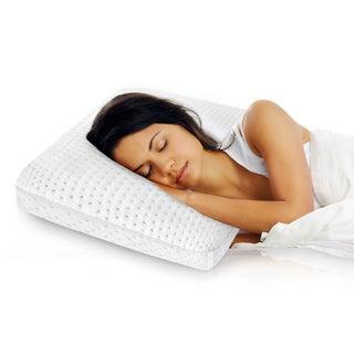 SwissLux European Styled Luxury Molded Ventilated Memory Foam Pillow