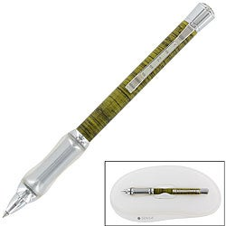Sensa Woodwind Seagrass Black Ballpoint Pen