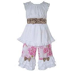 Ann Loren Girl's Boutique Shabby Chic Capri Outfit