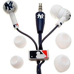 Nemo Digital MLB Baseball New York Yankees Earbud Headphones