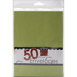 Bazzill A7 Parakeet Envelopes (Pack of 50)