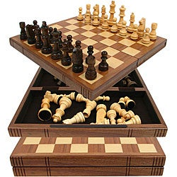 Book Look-a-like Chess Set
