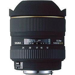 Sigma 12-24mm f4.5-5.6 EX DG IF HSM Lens for Canon