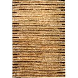 Safavieh Hand-knotted All-Natural Fields Beige Hemp Rug (9' x 12')