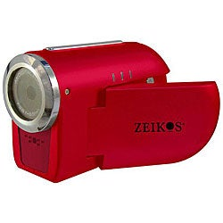 Zeikos Red Digital Video Camera