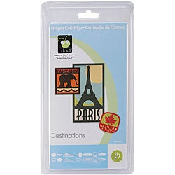 Cricut Destinations Shape Cartridge