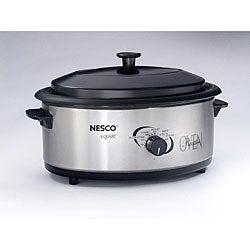 Nesco 4816-25PR Stainless Steel 6-quart Professional Roaster Oven