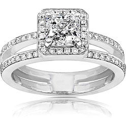 14k Gold 1 1/3ct TDW Radiant Cut Diamond Engagement Ring (H-I, I1-I2)
