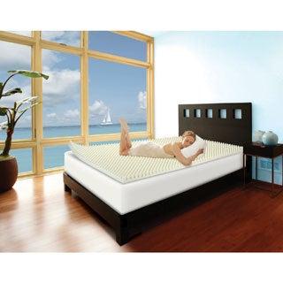 Slumber Solutions Highloft Cool 2-inch Memory Foam Mattress Topper