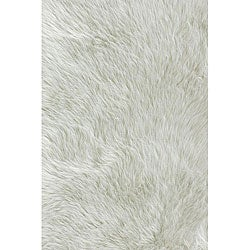 Jungle Sheep Skin Ivory Rug (5&#39; x 7&#39;6)