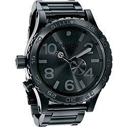 Nixon 51-30 Men's All Black Stainless Steel Watch