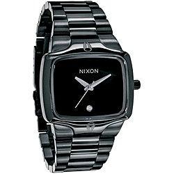 Nixon Men's 'Player' All Black Stainless Steel Watch