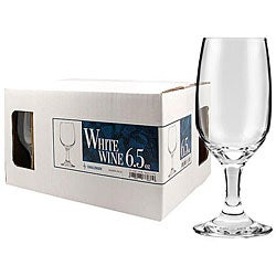 Challenger 6.5-oz White Wine Glasses (Pack of 12)