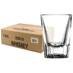 Challenger 2-oz Whiskey Glasses (Pack of 12)