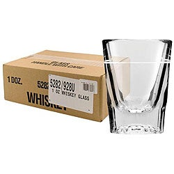 Challenger 2-oz Whiskey Glasses with 1-oz Line (Pack of 12)