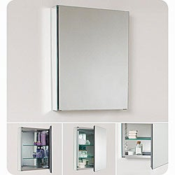 Fresca Small Bathroom Mirror Medicine Cabinet