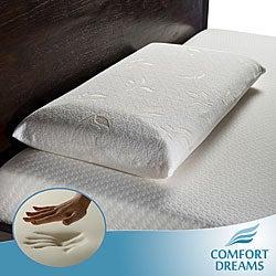 Comfort Dreams Select-A-Firmness Premium 4-pound Density Classic King-size Memory Foam Pillow