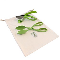 Silvermark Green 3-piece Salad Set